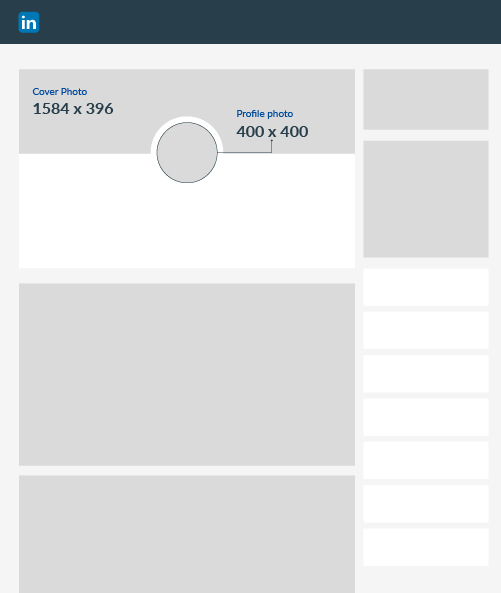 linkedin graphic sizes