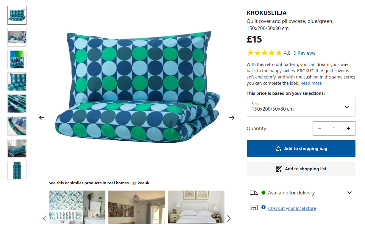 ikea cross-selling example